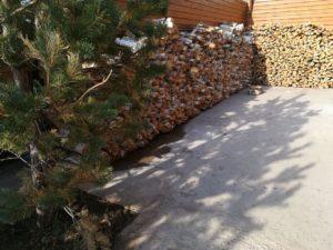 баня на берёзовых дровах